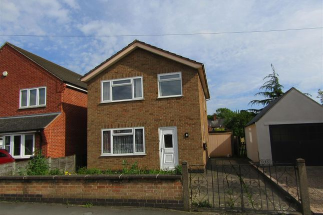 Thumbnail Detached house for sale in Holyoake Street, Enderby, Leicester