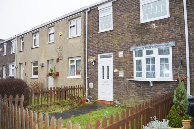 Thumbnail Terraced house to rent in Lucerne Way, Harold Hill, Romford