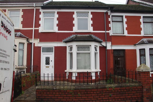 Thumbnail Terraced house to rent in Church Street, Bedwas, Caerphilly