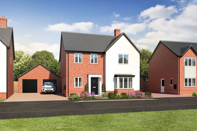 Thumbnail Detached house for sale in Station Road, Ibstock