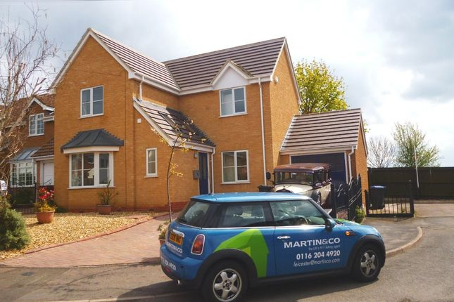 Thumbnail Detached house to rent in Tudor Grove, Groby, Leicester