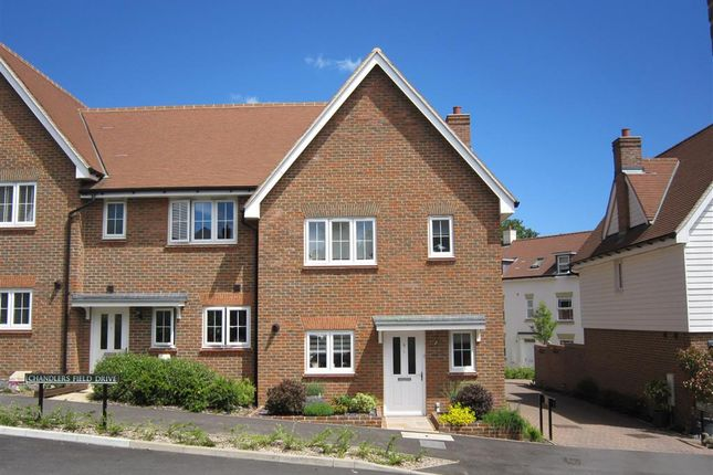 Thumbnail End terrace house for sale in Chandlers Field Drive, Haywards Heath