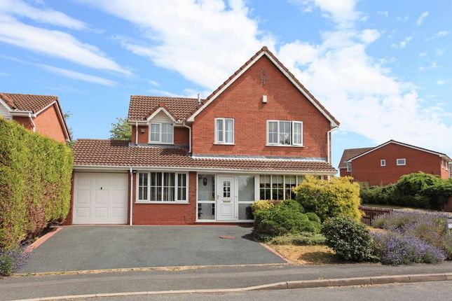Thumbnail Detached house for sale in 2 Leeses Close, Shawbirch, Telford, Onn