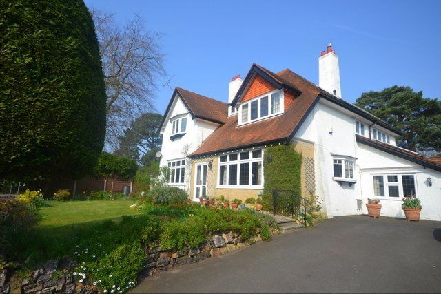 Thumbnail Detached house for sale in Haydon Road, Branksome Park, Poole, Dorset