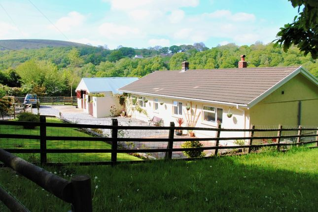 Thumbnail Detached bungalow for sale in Cwmfelin Road, Betws, Ammanford