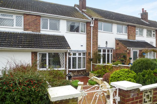 Thumbnail Terraced house for sale in Kirkman Close, Barlestone, Nuneaton