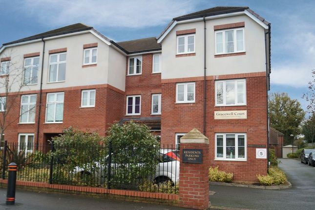 Thumbnail Flat for sale in Gracewell Court, Stratford Road, Hall Green