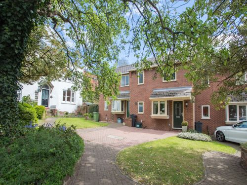 Thumbnail Terraced house to rent in Garden Court, Canal Street, Chester