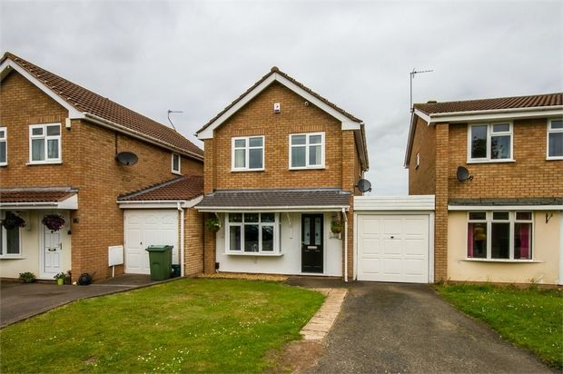 Thumbnail Link-detached house for sale in Lesscroft Close, Pendeford, Wolverhampton, West Midlands