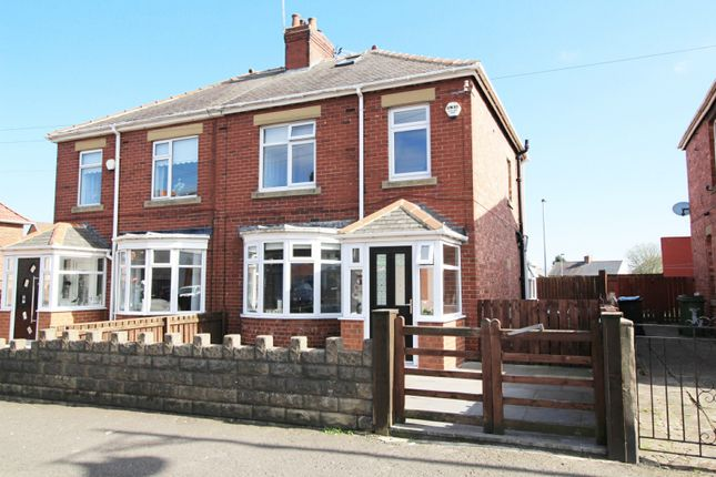 Thumbnail Semi-detached house for sale in Clayton Street, Bedlington, Tyne And Wear