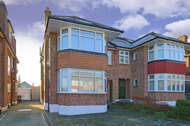 Thumbnail Semi-detached house to rent in Overton Road, London