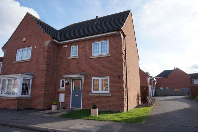Thumbnail Semi-detached house for sale in Weavers Avenue, Shepshed