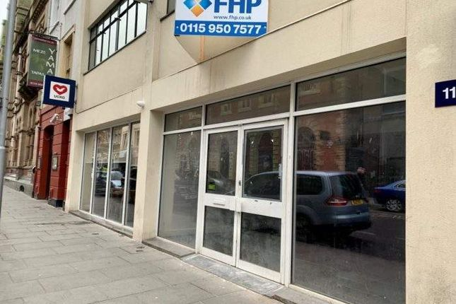 Thumbnail Leisure/hospitality to let in 9 Thurland Street, Thurland Street, Nottingham
