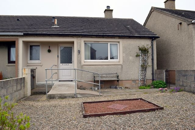 Thumbnail Semi-detached bungalow for sale in Hillhead Road, Wick