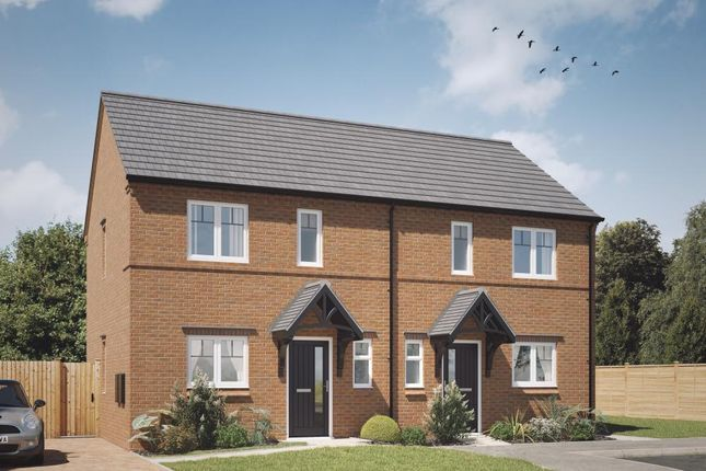 Thumbnail 2 bedroom semi-detached house for sale in Acresford Road, Overseal, Swadlincote