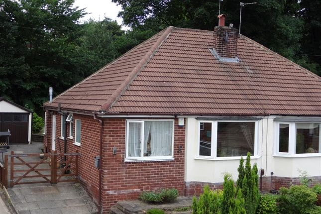 Thumbnail Semi-detached bungalow to rent in Newlay Wood Crescent, Horsforth, Leeds