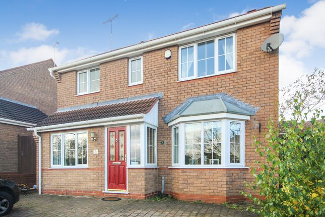 Thumbnail Detached house for sale in Clifton Way, Burton-On-Trent