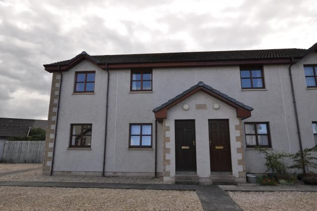 Thumbnail Flat for sale in 14 Mannachie Gardens, Forres