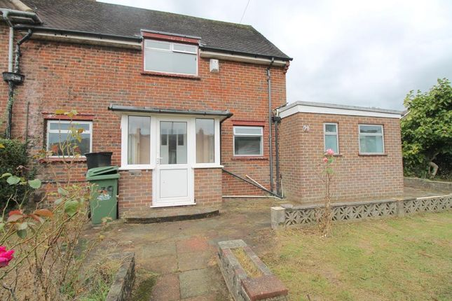 Thumbnail Semi-detached house to rent in Rushlake Road, Brighton, East Sussex