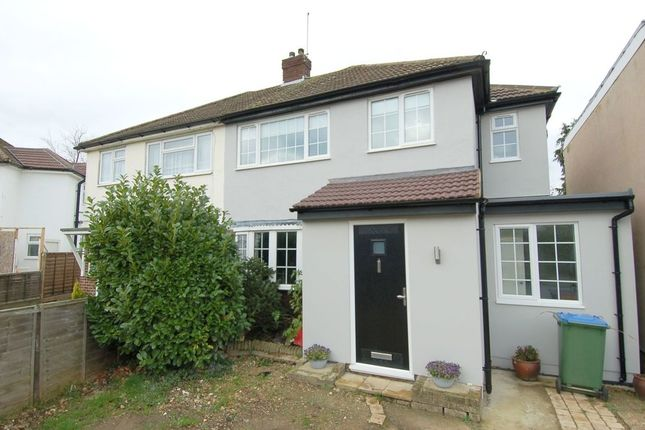 Thumbnail Semi-detached house for sale in Cleves Way, Hampton