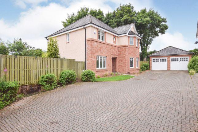Thumbnail Detached house for sale in Manor Drive, Coatbridge