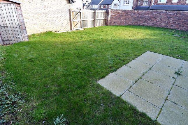 Rear Garden of Rosewood Close, North Shields NE29