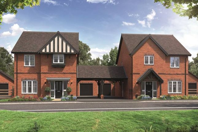 "Thumbnail Link-detached house for sale in ""The Larfield"" at School Road, Salford Priors, Evesham"