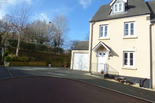 Thumbnail Semi-detached house for sale in Kestrel Park, Whitchurch, Tavistock