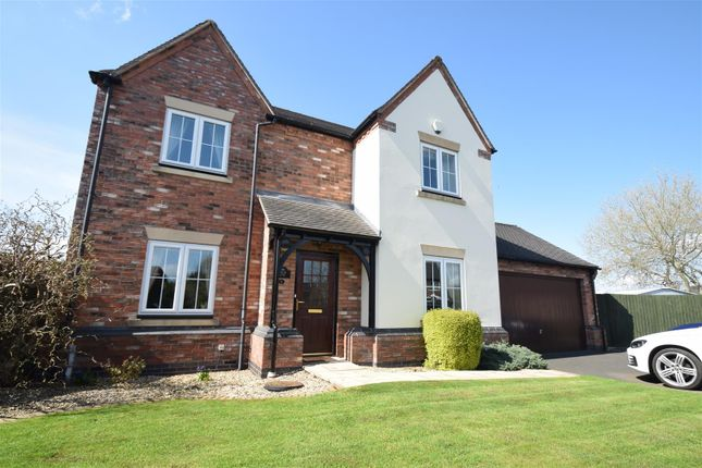 Thumbnail Detached house for sale in The Woodlands, Wem, Shrewsbury