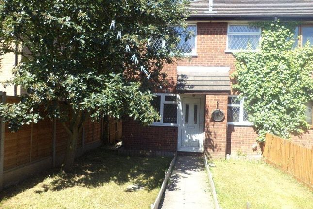 Thumbnail Town house to rent in Longhurst Close, Rushey Mead, Leicester