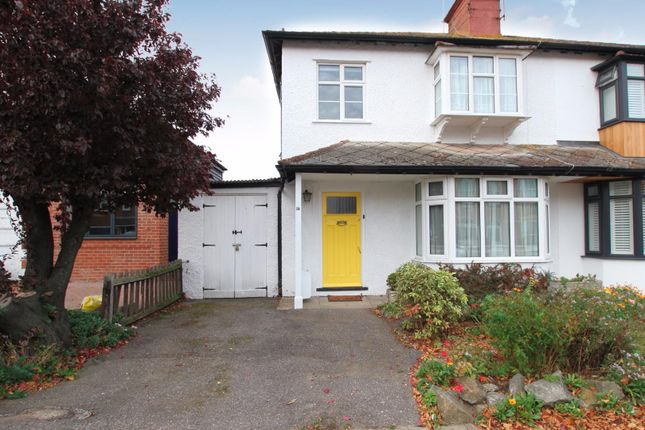 Thumbnail Semi-detached house for sale in Graystone Road, Tankerton, Whitstable
