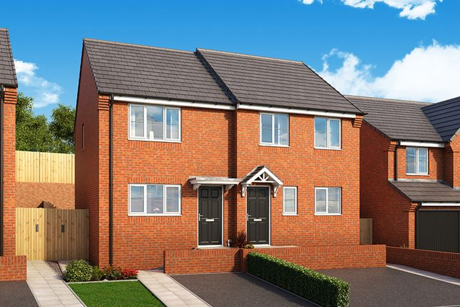 """Thumbnail 2 bedroom property for sale in """"The Cedar"""" at Manor Way, Peterlee"""