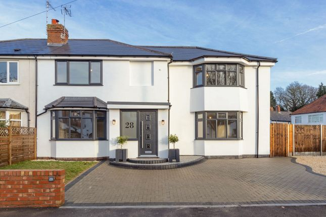 Thumbnail Town house for sale in Westlands Road, Moseley, Birmingham