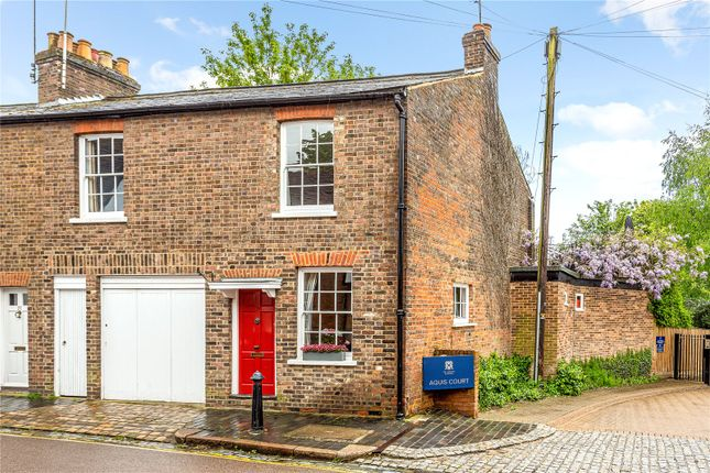 Thumbnail End terrace house for sale in Fishpool Street, St. Albans, Hertfordshire