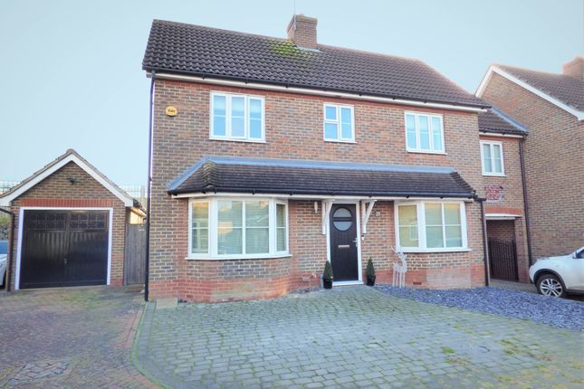 Thumbnail Link-detached house for sale in Gardeners Close, Maulden, Beds