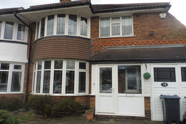 Thumbnail Semi-detached house to rent in Beeches Drive, Erdington, Birmingham