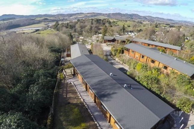 Rear External of Lodge 6, Alpine Meadow, Kippford Dalbeattie DG5
