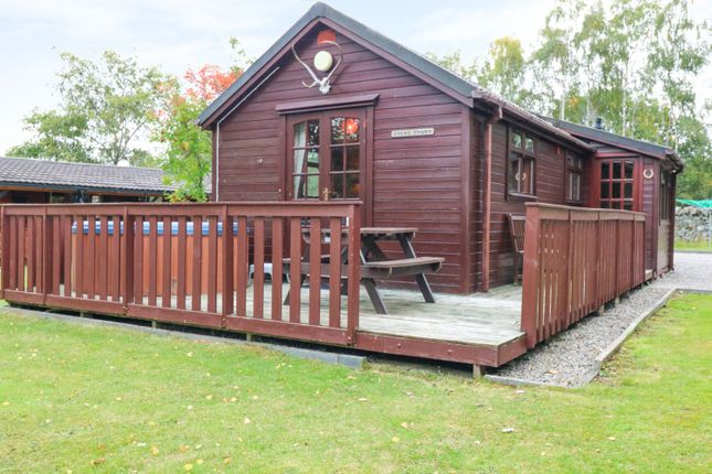 Thumbnail Mobile/park home for sale in Invernahavon Holiday Park, Newtonmore