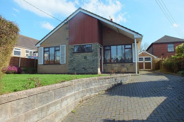 Thumbnail Detached bungalow for sale in Little Chell Lane, Little Chell, Stoke-On-Trent
