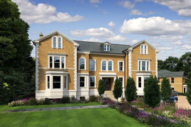 Thumbnail Flat for sale in Church Road, East Molesey