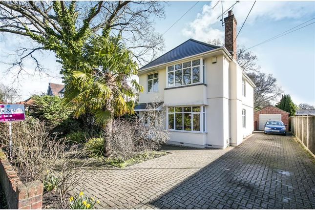 Thumbnail Detached house for sale in Springdale Road, Broadstone