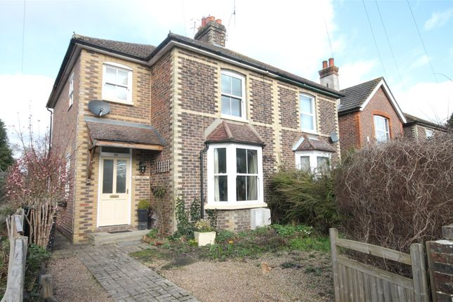 Thumbnail Semi-detached house to rent in Church Road, Horley, Surrey