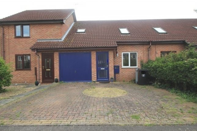 Thumbnail Terraced house to rent in Hazelwood Drive, Gonerby Hill Foot, Grantham