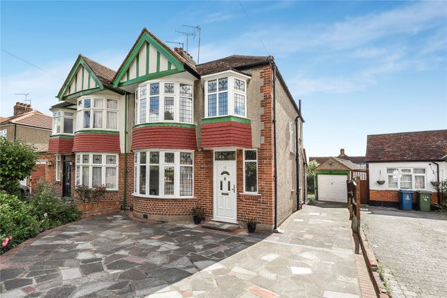 Thumbnail Semi-detached house for sale in The Greenway, Rayners Lane, Pinner, Middlesex