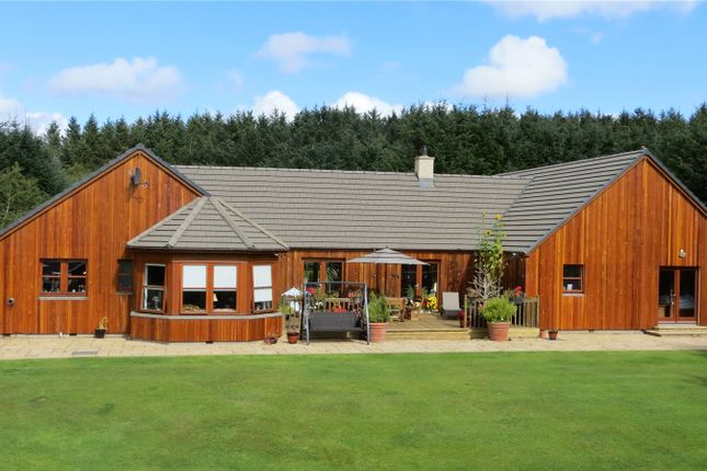 Thumbnail Detached house for sale in Sunnyside Lodge, Greeness, Cuminestown, Turriff