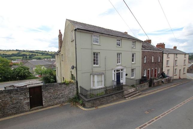 Thumbnail End terrace house for sale in Mount Street, Brecon