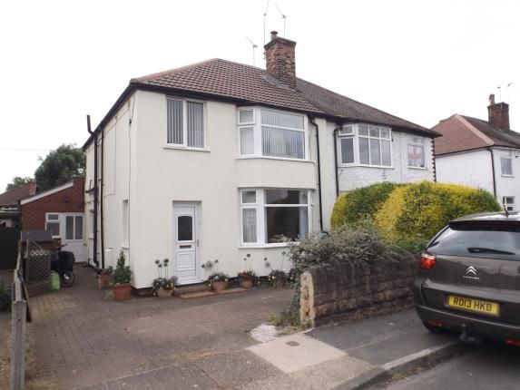 Thumbnail Semi-detached house for sale in Heathfield Grove, Chilwell, Nottingham, Nottinghamshire