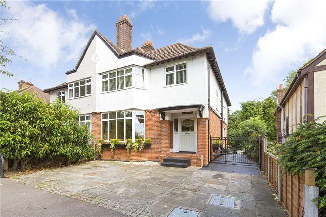 Thumbnail Semi-detached house for sale in Kingston Road, Romford