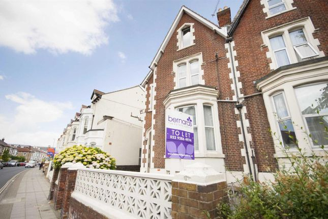 1 bed flat to rent in Victoria Road North, Southsea