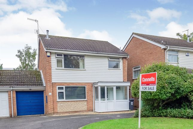 Thumbnail Link-detached house for sale in Valley Road, Lillington, Leamington Spa